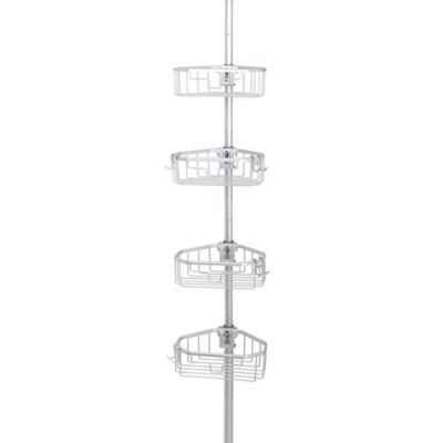 .ORG NeverRust™ Aluminum Tension Pole Caddy