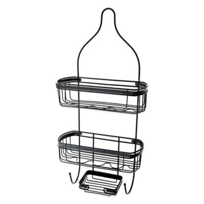 Alex Shower Caddy in Matte Black