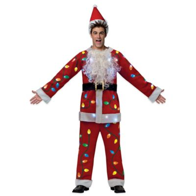 Rasta Imposta Adult National Lampoon's Christmas Vacation Santa Suit