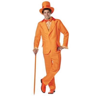 "Rasta Imposta Adult ""Dumb & Dumber"" Lloyd Orange Tuxedo Costume"