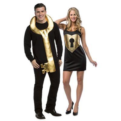 Rasta Imposta Adult Key To My Heart Couples Costume