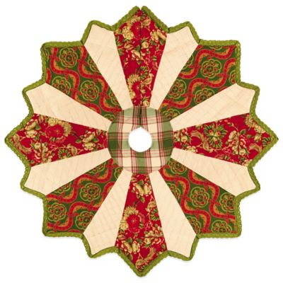 Alaysia 54-Inch Christmas Tree Skirt