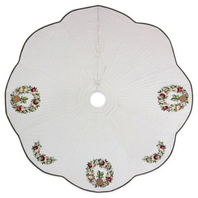 Wreath 54-Inch Tree Skirt