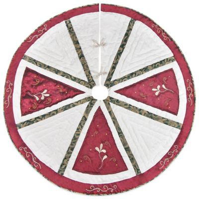 Elegant Tradition 54-Inch Christmas Tree Skirt