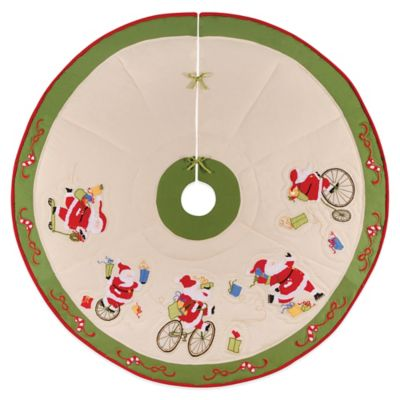Locomotion Santa 54-Inch Christmas Tree Skirt