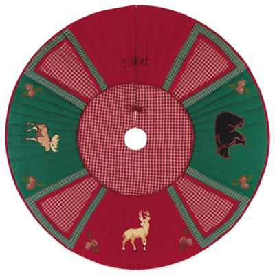 Lodge 54-Inch Tree Skirt