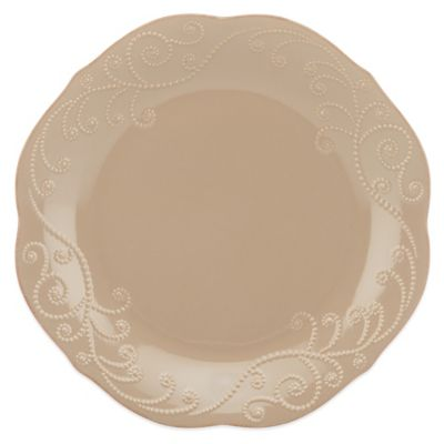 Lenox® French Perle Dinner Plate in Latte