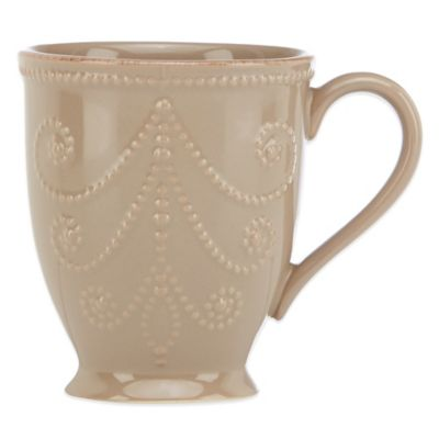 French Perle Mug in Latte