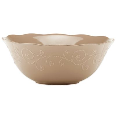 Lenox® French Perle Serving Bowl in Latte