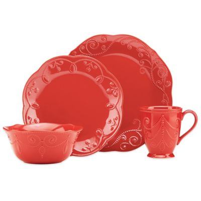4-Piece Place Setting in Cherry