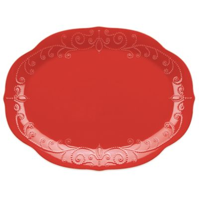 Lenox® French Perle Oval Platter in Cherry