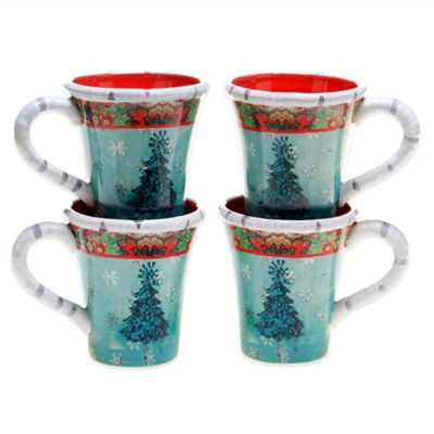 Tracy Porter® Poetic Wanderlust® Folklore Christmas Mug (Set of 4)