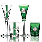 Waterford® Crystal Snowflake Wishes 2012 2nd Edition Courage Carina Glasses