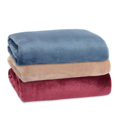 Berkshire® Modern Comfort Throw in Marshmallow