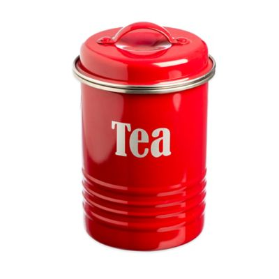 Typhoon® Vintage Tea Canister in Red