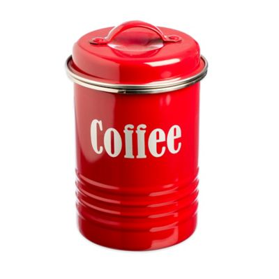 Typhoon® Vintage Coffee Canister in Red