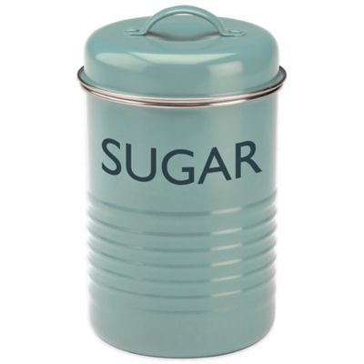 Blue Sugar Canister