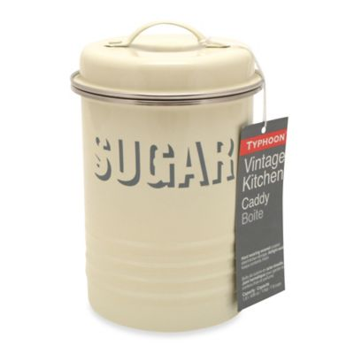 Typhoon® Vintage Sugar Canister in Cream