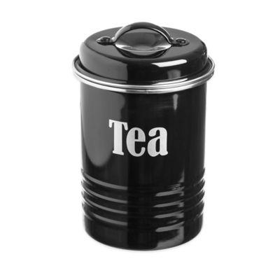 Typhoon® Vintage Tea Canister in Black