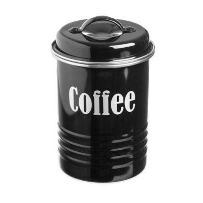 Typhoon® Vintage Coffee Canister in Black