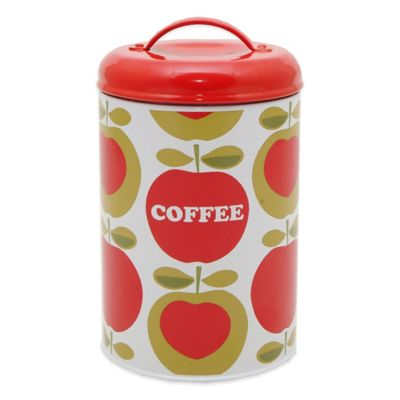 Typhoon® Apple Heart Coffee Canister