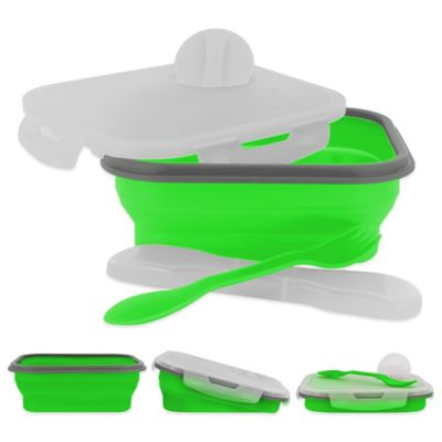 SmartPlanet Small Collapsible Meal Kit in Green