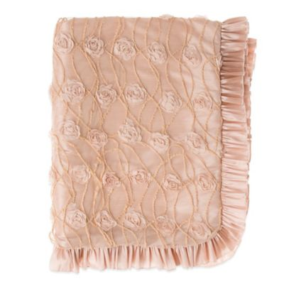 Glenna Jean Paris Throw in Pink/Taupe
