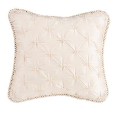Glenna Jean Paris Tufted Pillow in Cream