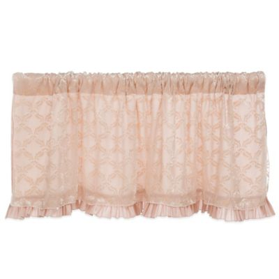 Glenna Jean Paris Window Valance in Pink