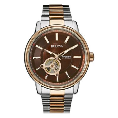 Bulova Men's Automatic Movement Watch Men's Watches