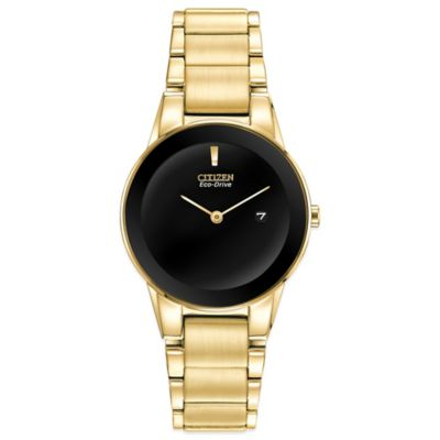 Citizen Eco-Drive Ladies' 30mm Axiom Watch in Goldtone Stainless Steel