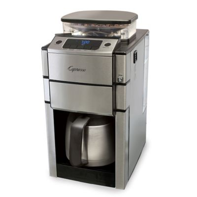 Capresso Coffee Maker And Grinder : Capresso CoffeeTeam Pro 10-Cup Coffee Maker - Bed Bath & Beyond