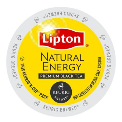 Keurig® K-Cup® Pack 18-Count Lipton® Natural Energy Premium Black Tea