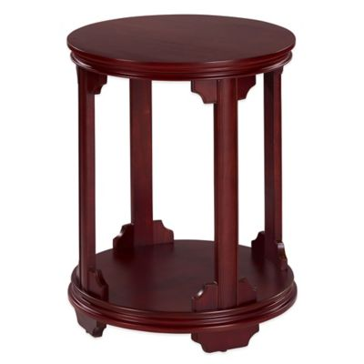 Bombay® Addingham Accent Table in Maple