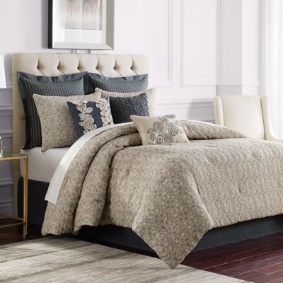 Sonoma California King Comforter Set in Grey