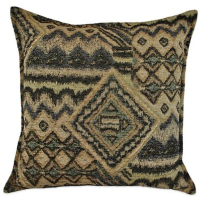Feathered Square Throw Pillow Throw Pillows