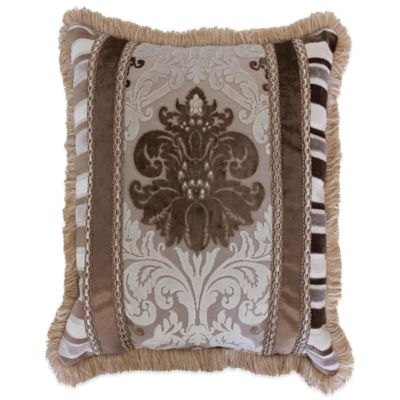 Austin Horn Classics Minuet Reversible Square Throw Pillow