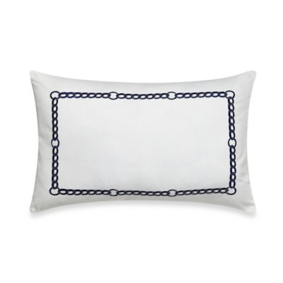Nautica® Haverdale Breakfast Throw Pillow in Navy