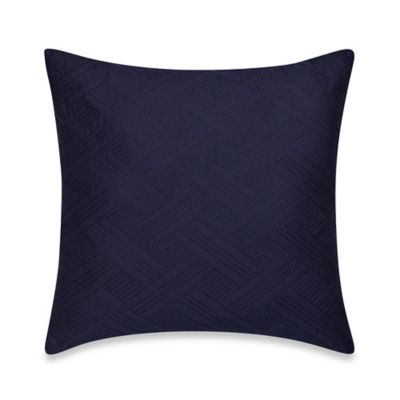 Nautica® Haverdale Quilted Square Throw Pillow in Navy