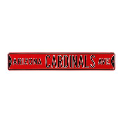 NFL Arizona Cardinals Steel Street Sign