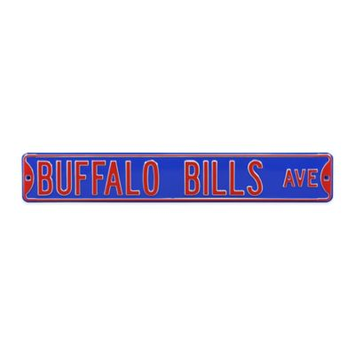 NFL Buffalo Bills Steel Street Sign