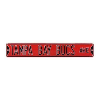 NFL Tampa Bay Buccaneers Steel Street Sign