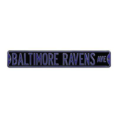NFL Baltimore Ravens Steel Street Sign