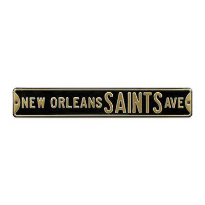 NFL New Orleans Saints Steel Street Sign