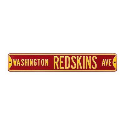 NFL Washington Redskins Steel Street Sign