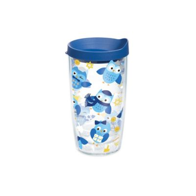 Owls Wrap Tumbler with Lid
