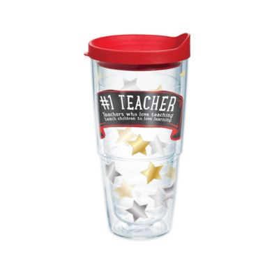 Teacher 24 oz Wrap Tumbler with Lid