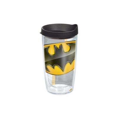 Batman Wrap 16 oz Tumbler with Lid
