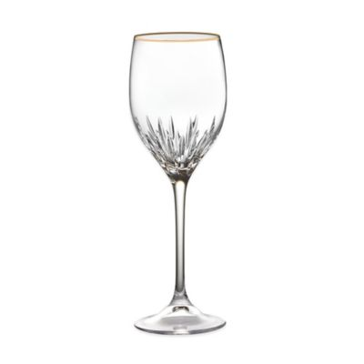 Gold Stemware Glasses
