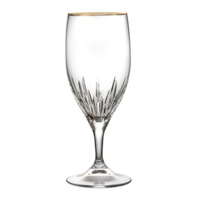 Vera Wang Wedgwood® Duchesse Gold Iced Beverage Glass